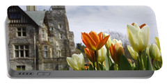 Castle Tulips Portable Battery Charger