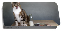 Cat And Herring Portable Battery Charger