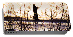 Portable Battery Charger featuring the photograph Catching The Sunrise by Robyn King