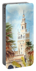 Catedral De Sevilla Portable Battery Charger by Bill Holkham