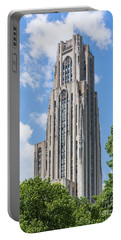 Cathedral Of Learning - Pittsburgh Pa Portable Battery Charger