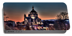Cathedral Of Saint Paul Portable Battery Charger by Amanda Stadther