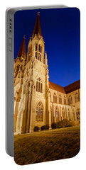 Morning At The Cathedral Of St Helena Portable Battery Charger by Fran Riley