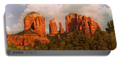 Cathedral Rock Sunset Portable Battery Charger