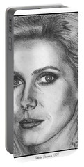 Catherine Deneuve In 1976 Portable Battery Charger by J McCombie
