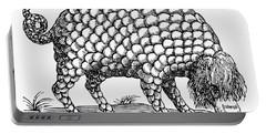 Catoblepas Monster, 1658 Portable Battery Charger