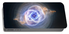 Cat's Eye Nebula Portable Battery Charger