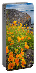 Cattle Point Poppies Portable Battery Charger