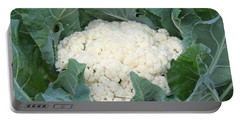 Cauliflower Portable Battery Charger by Carol Groenen