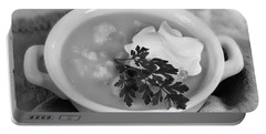 Cauliflower Soup Portable Battery Charger