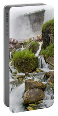 Cave Of The Winds At Niagara Falls Portable Battery Charger