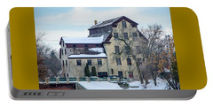 Cedarburg Mill Portable Battery Charger by Susan  McMenamin