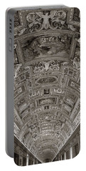 Ceiling Of Hall Of Maps Portable Battery Charger
