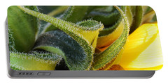 Portable Battery Charger featuring the photograph Celebration Sunflower by Wendy Wilton