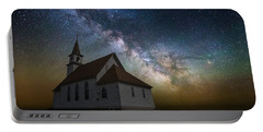Portable Battery Charger featuring the photograph Celestial by Aaron J Groen