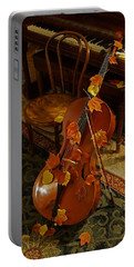 Cello Autumn 1 Portable Battery Charger by Mick Anderson
