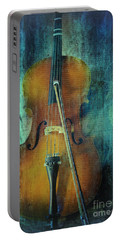 Cello  Portable Battery Charger by Erika Weber