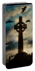Celtic Blue Portable Battery Charger