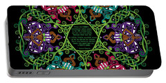 Celtic Fairy Mandala Portable Battery Charger