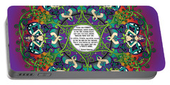 Celtic Spring Fairy Mandala Portable Battery Charger