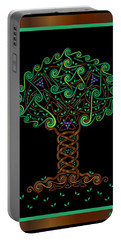 Celtic Tree Of Life Portable Battery Charger