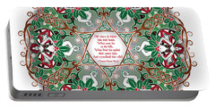Celtic Winter Fairy Mandala Portable Battery Charger