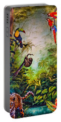 Portable Battery Charger featuring the photograph Central American Social Club by Gary Keesler