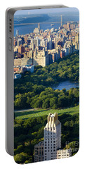 Central Park Portable Battery Charger by Brian Jannsen