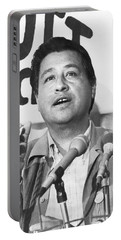 Cesar Chavez Announces Boycott Portable Battery Charger