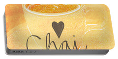 Chai Latte Love Portable Battery Charger