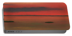 Chambers Island Sunset Portable Battery Charger