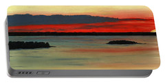 Chambers Island Sunset II Portable Battery Charger