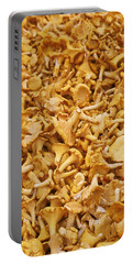Chanterelle Mushroom Portable Battery Charger by Anonymous