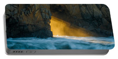 Chaos - Pfeiffer Beach Portable Battery Charger
