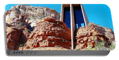 Chapel Of The Holy Cross Sedona Portable Battery Charger