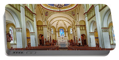 Portable Battery Charger featuring the photograph Chapel Of The Immaculate Conception by Jim Thompson