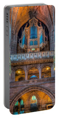 Portable Battery Charger featuring the photograph Chapel Organ by Adrian Evans
