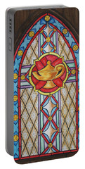 Chapel Window Portable Battery Charger