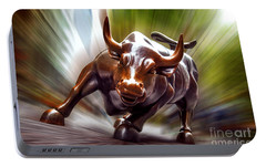 Charging Bull Portable Battery Charger by Az Jackson