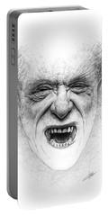 Charles Bukowski Portable Battery Charger