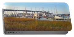Charleston Harbor And Marsh Portable Battery Charger