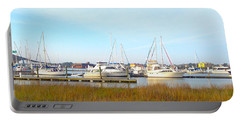 Charleston Harbor Boats Portable Battery Charger