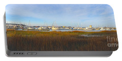 Charleston Harbor Panorama Portable Battery Charger