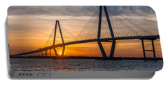 Charleston Sun Setting  Portable Battery Charger