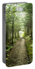 Portable Battery Charger featuring the photograph Charlies Bunion Bald Trail by Debbie Green