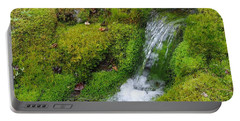 Portable Battery Charger featuring the photograph Chasing Waterfalls by Marilyn Wilson