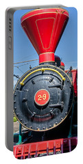 Portable Battery Charger featuring the photograph Chattanooga Choo Choo Steam Engine by Susan  McMenamin