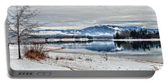 Chatuge Dam Winter Vista Portable Battery Charger