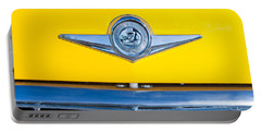 Checker Taxi Cab Emblem Portable Battery Charger
