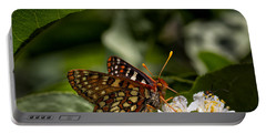 Checkerspot Sipping Nectar Portable Battery Charger